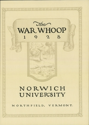 Page 7, 1928 Edition, Norwich University - War Whoop Yearbook (Northfield, VT) online yearbook collection