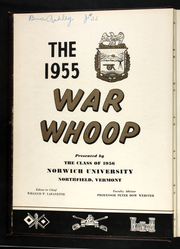 Page 6, 1955 Edition, Norwich University - War Whoop Yearbook (Northfield, VT) online yearbook collection