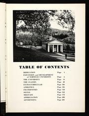 Page 7, 1955 Edition, Norwich University - War Whoop Yearbook (Northfield, VT) online yearbook collection
