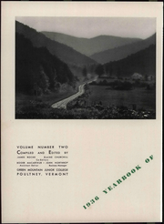 Page 8, 1936 Edition, Green Mountain College - Peaks Yearbook (Poultney, VT) online yearbook collection
