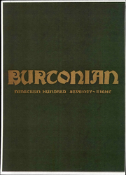Page 1, 1978 Edition, Burr and Burton Academy - Burtonian Yearbook (Manchester, VT) online yearbook collection