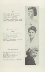 Page 7, 1955 Edition, McIndoes Academy - Spitfire Yearbook (McIndoes, VT) online yearbook collection