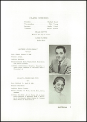 Page 11, 1956 Edition, Barton Academy - Bartonian Yearbook (Barton, VT) online yearbook collection