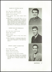 Page 13, 1956 Edition, Barton Academy - Bartonian Yearbook (Barton, VT) online yearbook collection