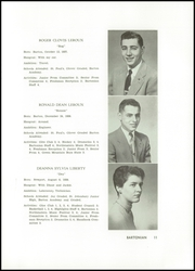 Page 15, 1956 Edition, Barton Academy - Bartonian Yearbook (Barton, VT) online yearbook collection