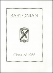 Page 5, 1956 Edition, Barton Academy - Bartonian Yearbook (Barton, VT) online yearbook collection