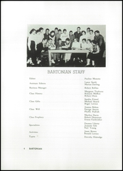 Page 8, 1956 Edition, Barton Academy - Bartonian Yearbook (Barton, VT) online yearbook collection