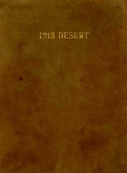University of Arizona - Desert Yearbook (Tucson, AZ) online yearbook collection, 1915 Edition, Page 1