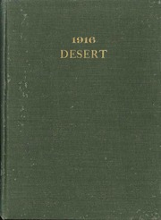 University of Arizona - Desert Yearbook (Tucson, AZ) online yearbook collection, 1916 Edition, Page 1
