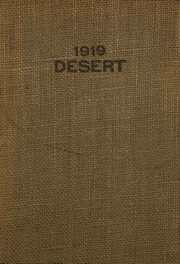 University of Arizona - Desert Yearbook (Tucson, AZ) online yearbook collection, 1919 Edition, Page 1