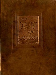 University of Arizona - Desert Yearbook (Tucson, AZ) online yearbook collection, 1933 Edition, Page 1