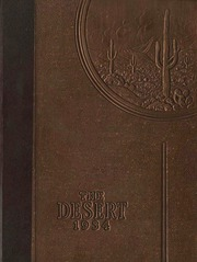 University of Arizona - Desert Yearbook (Tucson, AZ) online yearbook collection, 1934 Edition, Page 1