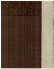 University of Arizona - Desert Yearbook (Tucson, AZ) online yearbook collection, 1936 Edition, Page 1