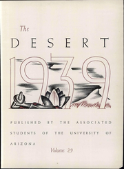 Page 9, 1939 Edition, University of Arizona - Desert Yearbook (Tucson, AZ) online yearbook collection