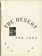 Page 7, 1943 Edition, University of Arizona - Desert Yearbook (Tucson, AZ) online yearbook collection