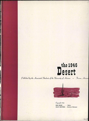 Page 339, 1946 Edition, University of Arizona - Desert Yearbook (Tucson, AZ) online yearbook collection