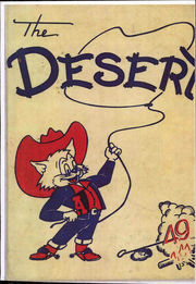 1949 Edition, University of Arizona - Desert Yearbook (Tucson, AZ)