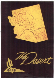 1951 Edition, University of Arizona - Desert Yearbook (Tucson, AZ)