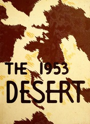 University of Arizona - Desert Yearbook (Tucson, AZ) online yearbook collection, 1953 Edition, Page 1