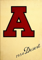 University of Arizona - Desert Yearbook (Tucson, AZ) online yearbook collection, 1954 Edition, Page 1