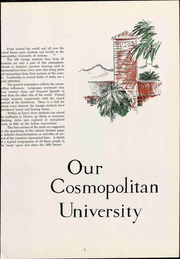 Page 11, 1955 Edition, University of Arizona - Desert Yearbook (Tucson, AZ) online yearbook collection