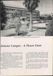 Page 13, 1955 Edition, University of Arizona - Desert Yearbook (Tucson, AZ) online yearbook collection