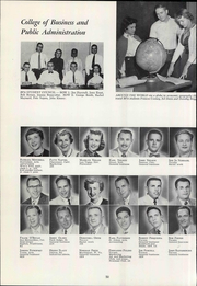 Page 58, 1955 Edition, University of Arizona - Desert Yearbook (Tucson, AZ) online yearbook collection