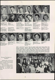 Page 61, 1955 Edition, University of Arizona - Desert Yearbook (Tucson, AZ) online yearbook collection