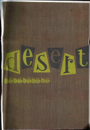 University of Arizona - Desert Yearbook (Tucson, AZ) online yearbook collection, 1958 Edition, Page 1