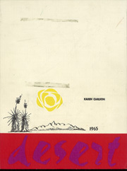 1965 Edition, University of Arizona - Desert Yearbook (Tucson, AZ)