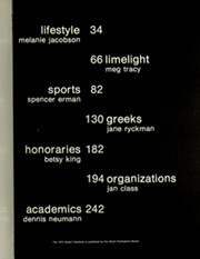 Page 5, 1975 Edition, University of Arizona - Desert Yearbook (Tucson, AZ) online yearbook collection