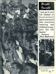 Page 17, 1994 Edition, University of Arizona - Desert Yearbook (Tucson, AZ) online yearbook collection