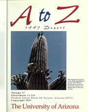 Page 5, 1997 Edition, University of Arizona - Desert Yearbook (Tucson, AZ) online yearbook collection