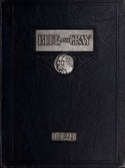 Page 1, 1929 Edition, Washington Lee High School - Blue and Gray Yearbook (Arlington, VA) online yearbook collection