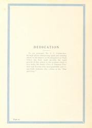 Page 10, 1929 Edition, Washington Lee High School - Blue and Gray Yearbook (Arlington, VA) online yearbook collection