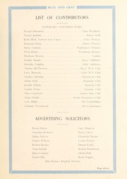 Page 15, 1929 Edition, Washington Lee High School - Blue and Gray Yearbook (Arlington, VA) online yearbook collection
