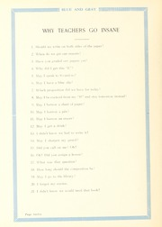 Page 16, 1929 Edition, Washington Lee High School - Blue and Gray Yearbook (Arlington, VA) online yearbook collection