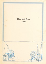 Page 7, 1929 Edition, Washington Lee High School - Blue and Gray Yearbook (Arlington, VA) online yearbook collection
