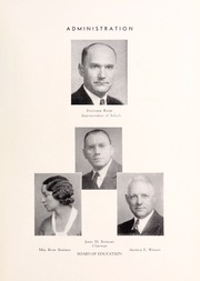 Page 11, 1934 Edition, Washington Lee High School - Blue and Gray Yearbook (Arlington, VA) online yearbook collection