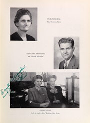 Page 11, 1947 Edition, Washington Lee High School - Blue and Gray Yearbook (Arlington, VA) online yearbook collection