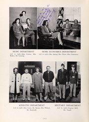 Page 16, 1947 Edition, Washington Lee High School - Blue and Gray Yearbook (Arlington, VA) online yearbook collection