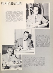 Page 13, 1955 Edition, Washington Lee High School - Blue and Gray Yearbook (Arlington, VA) online yearbook collection