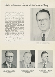 Page 13, 1956 Edition, Washington Lee High School - Blue and Gray Yearbook (Arlington, VA) online yearbook collection