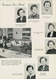 Page 17, 1956 Edition, Washington Lee High School - Blue and Gray Yearbook (Arlington, VA) online yearbook collection
