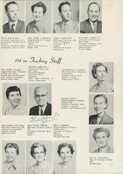 Page 21, 1956 Edition, Washington Lee High School - Blue and Gray Yearbook (Arlington, VA) online yearbook collection