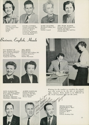 Page 23, 1956 Edition, Washington Lee High School - Blue and Gray Yearbook (Arlington, VA) online yearbook collection