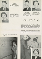 Page 82, 1956 Edition, Washington Lee High School - Blue and Gray Yearbook (Arlington, VA) online yearbook collection
