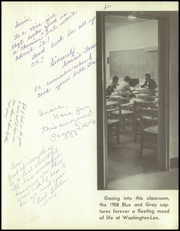 Page 5, 1958 Edition, Washington Lee High School - Blue and Gray Yearbook (Arlington, VA) online yearbook collection