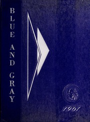 Page 1, 1961 Edition, Washington Lee High School - Blue and Gray Yearbook (Arlington, VA) online yearbook collection