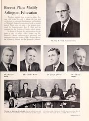 Page 15, 1961 Edition, Washington Lee High School - Blue and Gray Yearbook (Arlington, VA) online yearbook collection